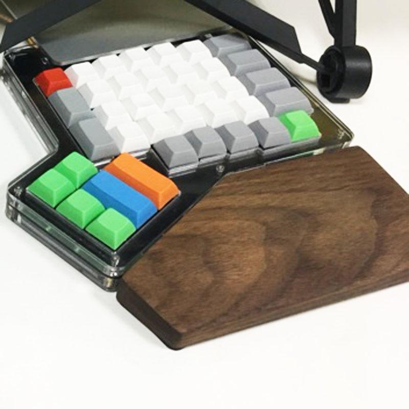 Ergodox المعصم ينجي الخشب بقية الزان خشب متين اليد خشبية المعصم بقية ل ergodox الميكانيكية لوحة المفاتيح