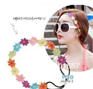 2021 new Wholesale fashion handmade europe style big gems chain hairbands headband party hairband hair accessories