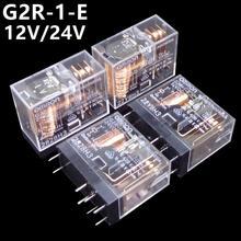OMRON-ensemble de 10 pièces   Relais,, 12V 24V, 16A, flambant neuf et original