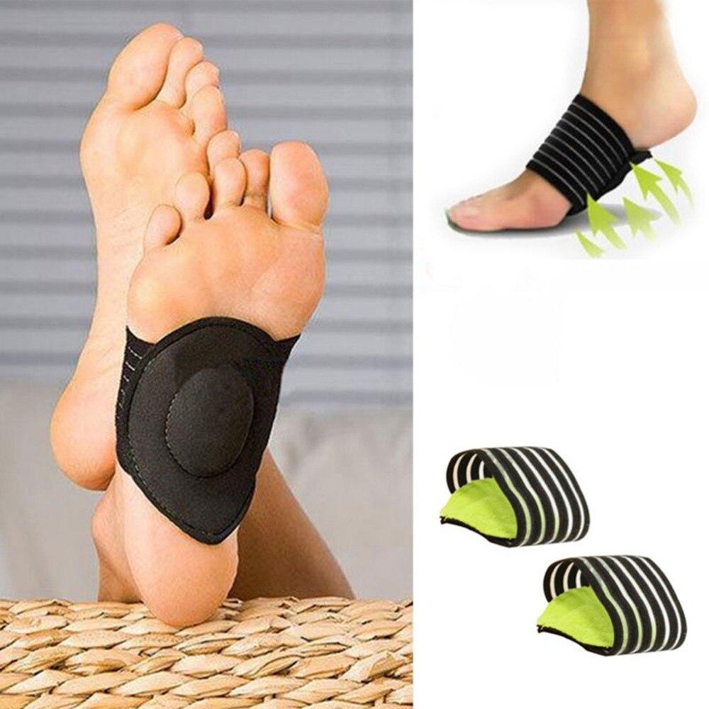 Pies alivio de dolor de talón fascitis Plantar en vivomed plantilla correr-Pad pies único cuidado acolchado zapatos Inserto 1 par ayuda para el arco del pie plantillas