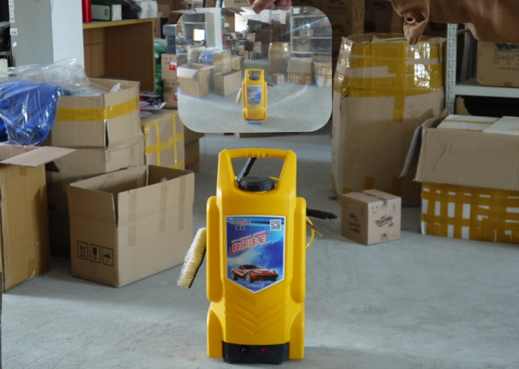 Gran Angular Fresnel lente Car Parking reverse Sticker útil ampliar ángulo de visión Fresnel lente