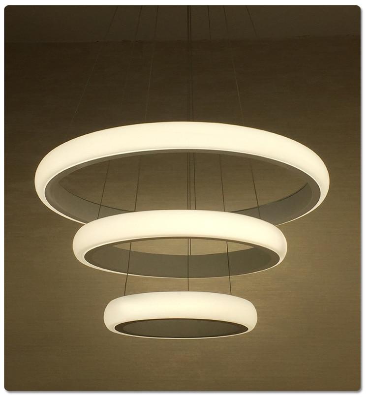 Modern Dinning Room LED Round Pendant Lighting LED Oval Hanging Lamp Luxury Kitchen Pendant Lamp led indoor lamp 90~260v acrylic