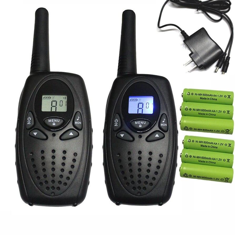 2 pc 1 w TS628 FRS Longue Distance talkie walkie à deux voies radio scanner hf talkie-walkie interphone w/casque chargeur batteries