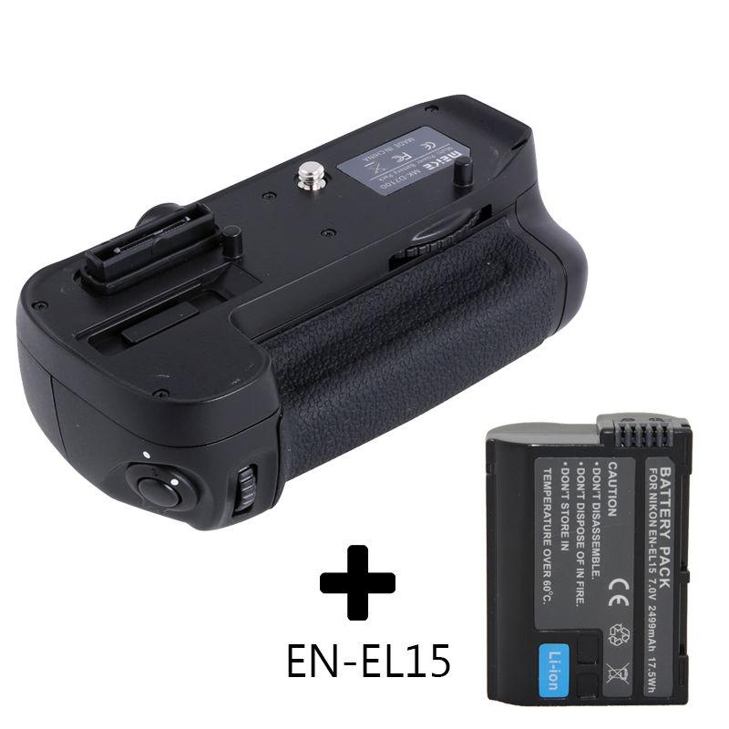 High quality MeiKe MK-D7000 MB-D11 Battery Grip for Nikon D7000 + EN-EL15