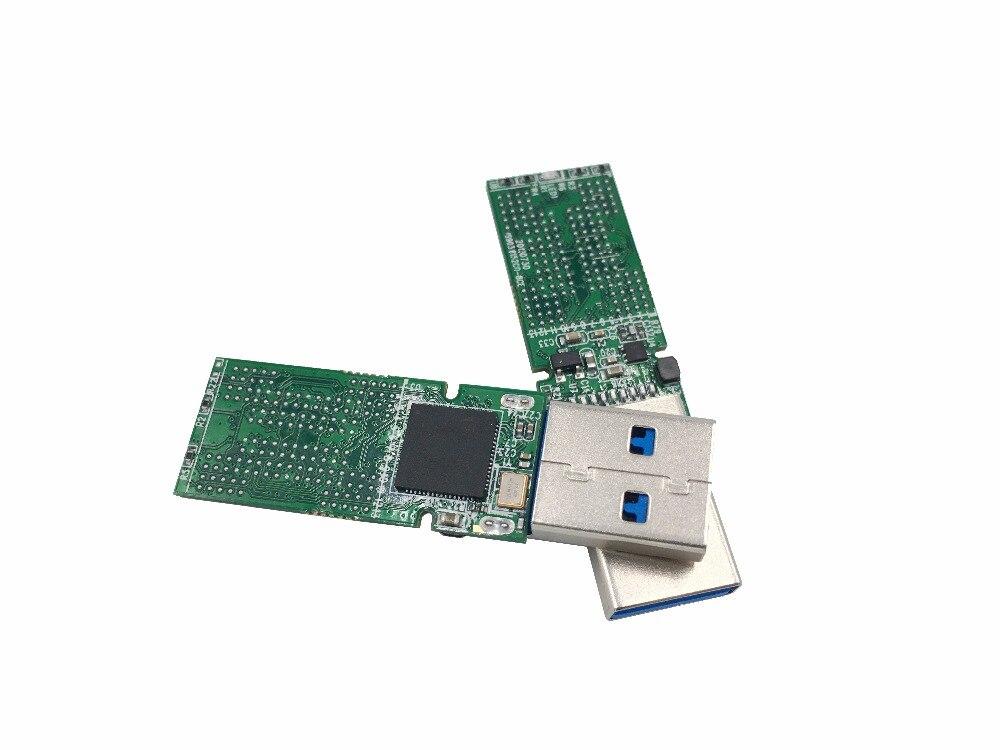 USB3.0 BGA152 U disco de MEMÓRIA flash NAND PCB IS903 controlador principal sem memória flash para reciclar SSD flash chips BGA152/ 132
