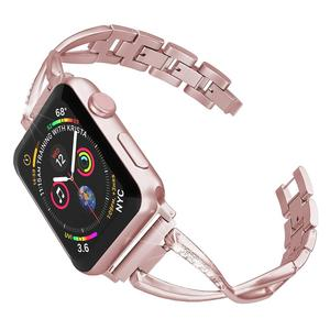 Stainless Steel Metal Band For Apple Watch Strap 38mm 42mm 40mm 44mm,Iwatch Bracelet Series 5 4 3 2 1 Women Wristband WatchBands