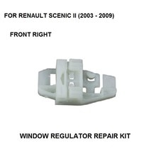 2003-2016 WINDOW REGULATOR REPAIR CLIP KIT FOR RENAULT SCENIC II ELECTRIC WINDOW REGULATOR CLIPS REAR RIGHT SIDE NEW