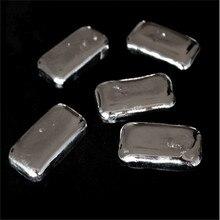 Gránulos de indio puro 99.99% partículas sólidas de indio grano lingote Metal en la Universidad experimento de investigación envío rápido gratis