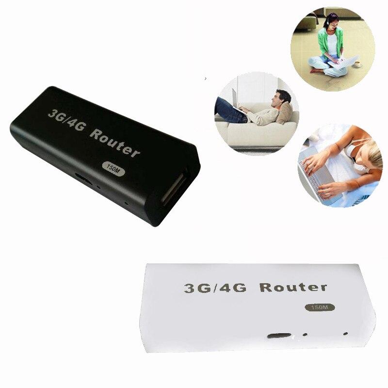 3G / 4G WiFi Wlan Hotspot AP Client 150mbps RJ45 USB беспроводной маршрутизатор для Mac, iOS, Windows, Linux, Android