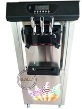 Máquina vertical de helados de 3 sabores de yogurt taylor de 25L Italy soft serve