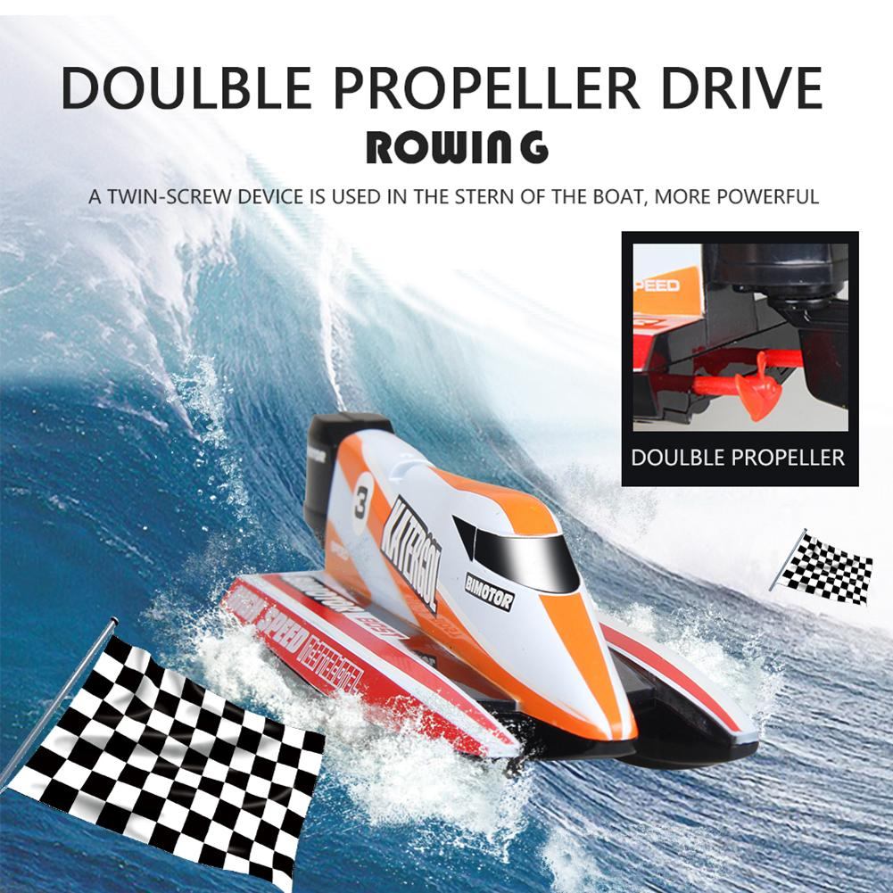 High Speed RC Boat 2.4GHz Racing Remote Control Speed Boat Gift For Children Toys Kids Gift
