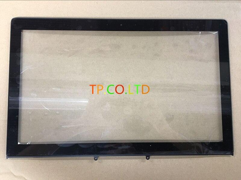 "15,6 ""para Asus N550 N550J N550JA N550JV N550LF portátil pantalla táctil digitalizador cristal Panel Sensor reemplazo de la lente reparación de la pieza"