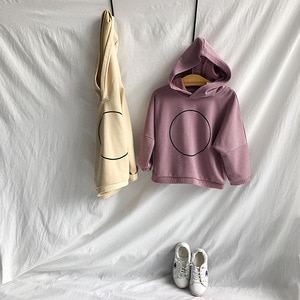 Girls Sweatshirt Korean Cotton Hoodies for Boys Fashion Casual Hooded Sportswear Kids Clothes Autumn 2019 Toddler Baby Pullover