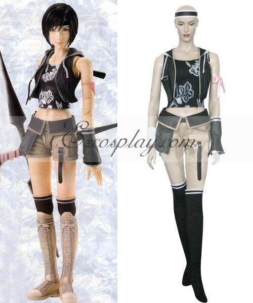 Final Fantasy VII, disfraz Cosplay de Yuffie Kisaragi E001