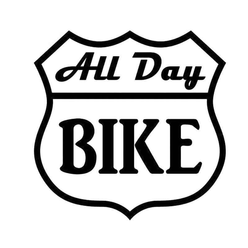 Calcomanía de vinilo divertido para bicicleta de 15x15cm, adhesivo negro/coche plateado, S8-0894...