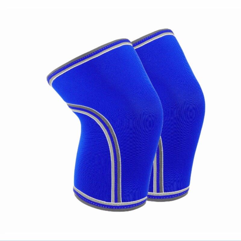 Производители Тяжелая атлетика колена 7 мм коленные рукава из неопрена