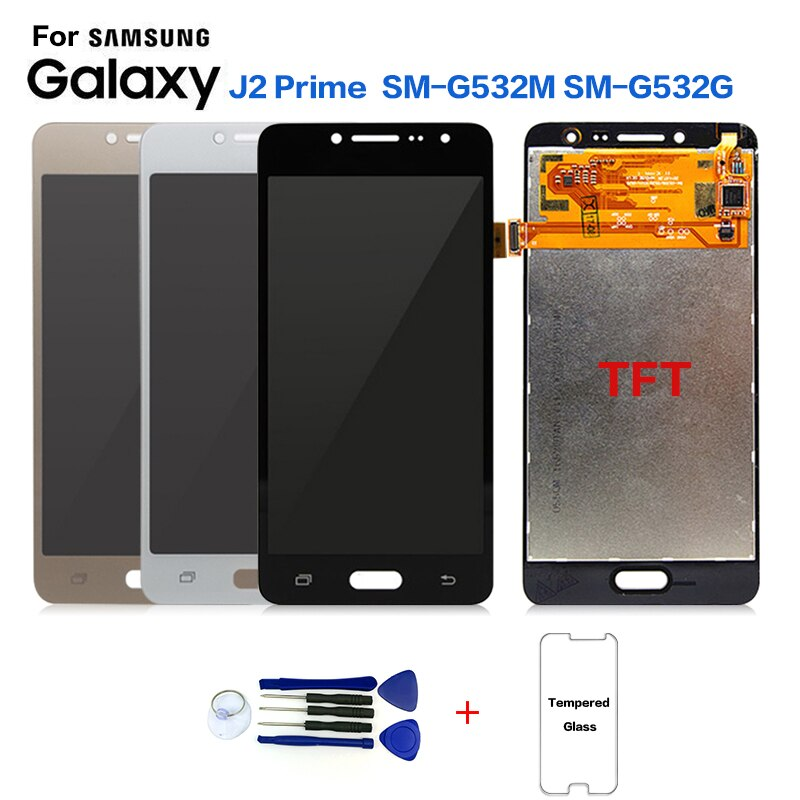 Дисплей для SAMSUNG Galaxy J2 Prime SM-G532F ЖК-экран Замена для Samsung SM-G532M SM-G532G ЖК-экран Модули