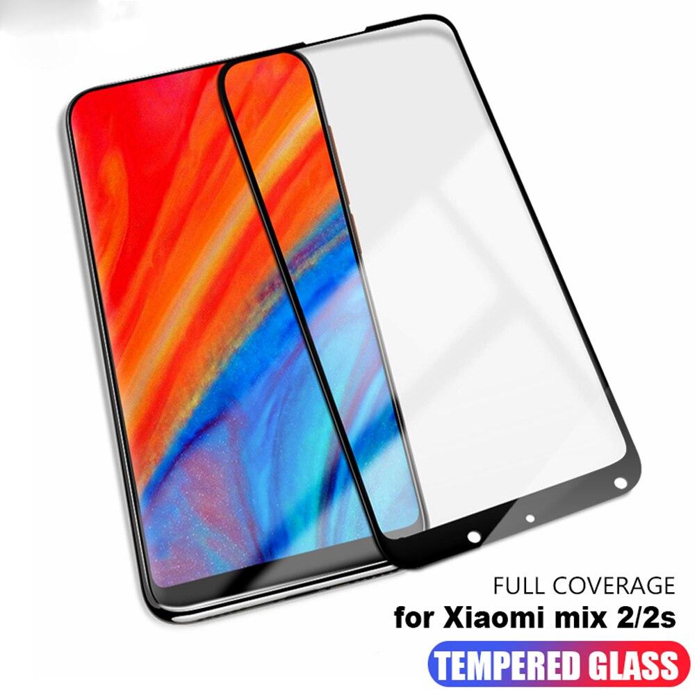 Vidrio protector 3D para xiaomi mi max 2 3 protector de pantalla de teléfono templado en el cristal para xiaomi mix 2 2s 3 película para smartphone