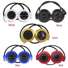 MINI503 спортивные беспроводные Bluetooth наушники стерео наушники Mp3 музыкальный плеер гарнитура наушник слот карты Micro SD FM радио микрофон
