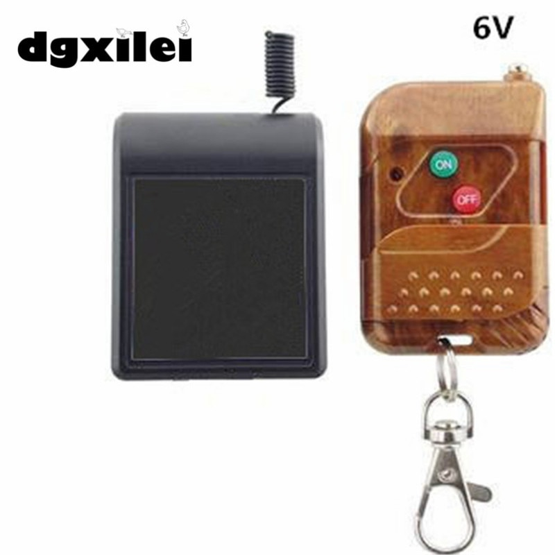 2019 Dgxilei Hunting Duck Decoy DC6V/12V Wireless Remote Switch with Receiver Module hunt duck lovely simulation animal hunting decoy plastic duck garden ornaments sports entertainment
