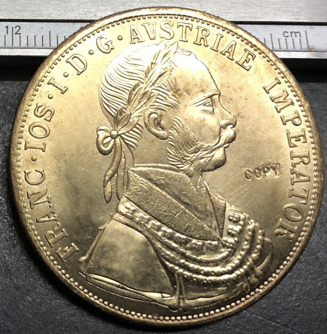 Золотая монета Ducats-Franz Joseph I (Trade Coinage), 1915
