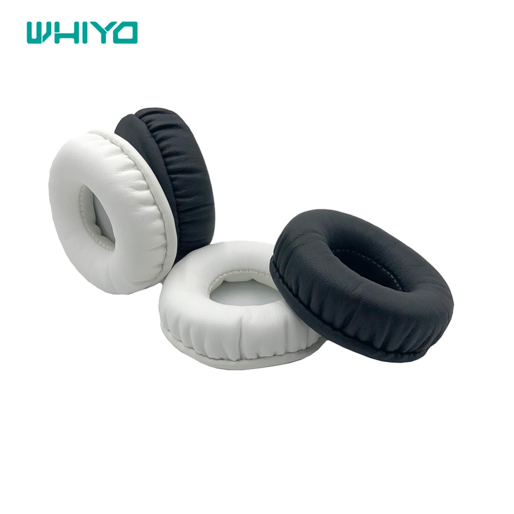 Whiyo 1 pair of Sleeve Ear Pads Covers Cups Cushion Cover Earpads Earmuff Replacement for Creative Hitz WP380 Headphones