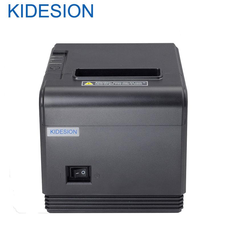 Nuevo llegado 80mm auto cortador impresora de recibos impresora POS impresora USB + interfaz Ethernet impresora Q200