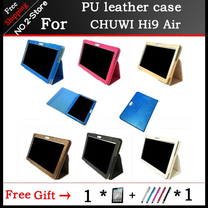10,1-дюймовый чехол для планшета из искусственной кожи, защитный чехол-подставка для Chuwi Hi 9 Air + Stylus + защита для экрана