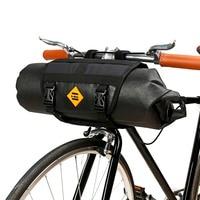 B-SOUL Bicycle Handlebar Bags Bike Basket for Bicycle Front Tube Packing Cycling Frame Panniers Bag Sacks Waterproof Accessories