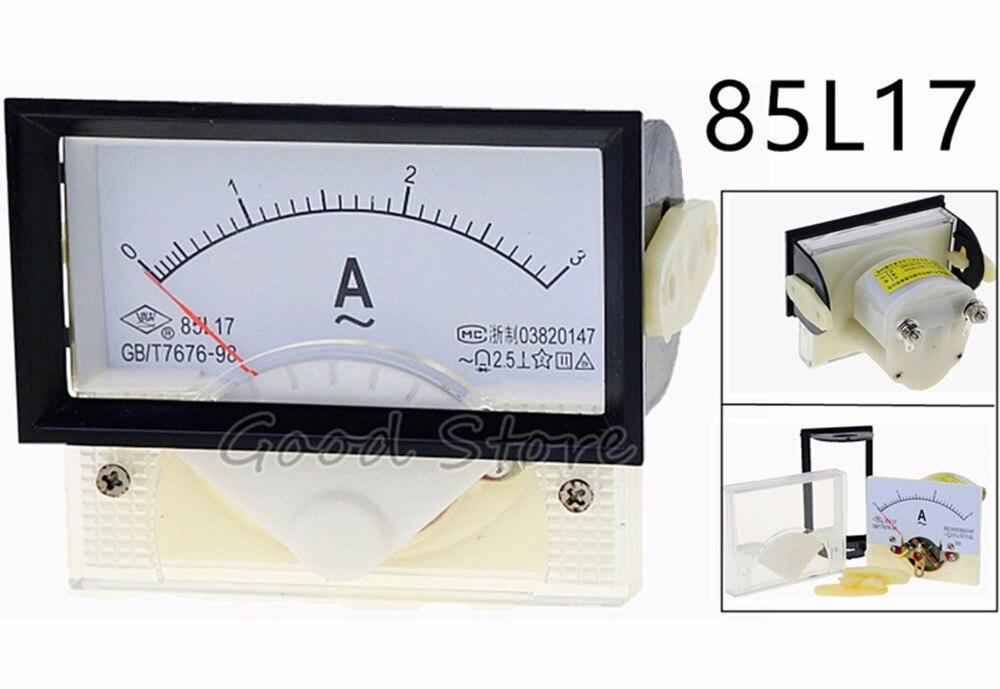 85L17 AC 100A 150A 200A 250A 300A 400A 500A 600A 750A 800A 1000A Amperímetro analógico Panel actual Amper de puntero de diagnóstico-también