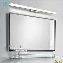 Moderne 40cm 50cm 60cm 70cm 90cm LED miroir lumière inox + aluminium + acrylique LED vanité salle de bain applique maquillage lampen