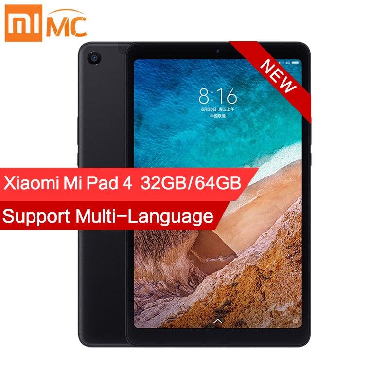 """Оригинальный Xiaomi mi Pad 4 pc tablet 8,0 """"1920x1200 FHD планшеты mi UI 10 Snapdragon 660 Восьмиядерный двойной WiFi 13 МП + 5 Мп камера 6000 мАч"""