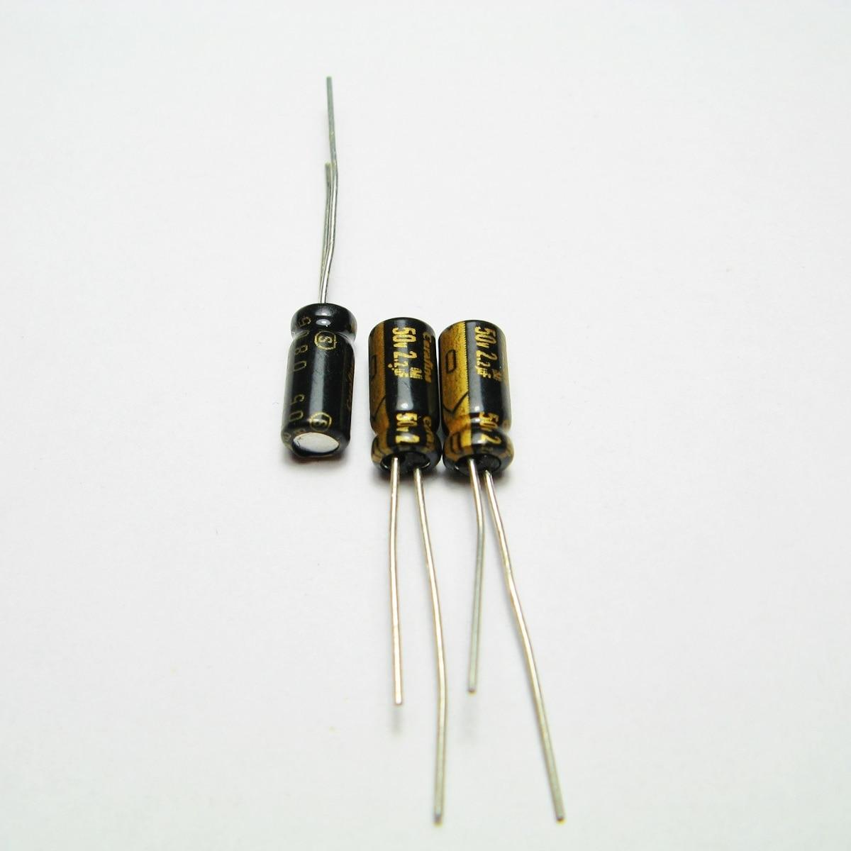 20pcs/50PCS Thailand ELNA Cerafine 50v2.2uf copper feet audio super capacitor electrolytic capacitors free shipping 5pcs 10pcs elna silmcii 16v2200uf 18 40 copper capacitor audio super capacitor electrolytic capacitors free shipping