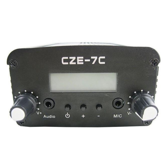 бесплатная доставка czh-5c 5w pll fm стерео передатчик 76-108mhz
