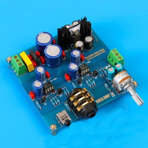 De Audio Hifi amplificador de auriculares de Base en SOLO Headphone Amp Diy Kits de nuevo