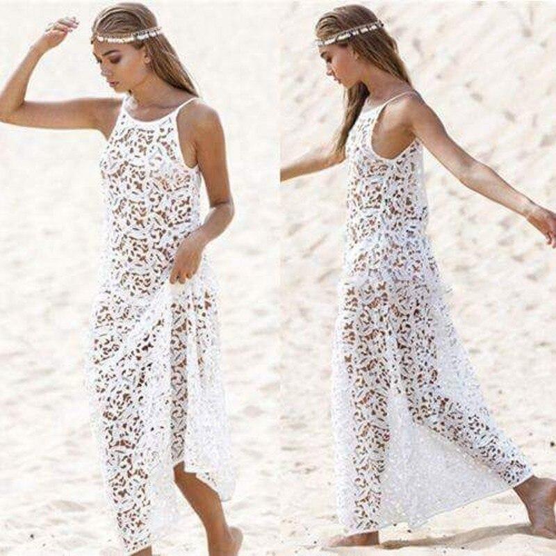 ビーチドレス coverups 新夏レース米白は、サイズに忠実に、取る通常の水泳ワタリスポーツ中国カバーアップ