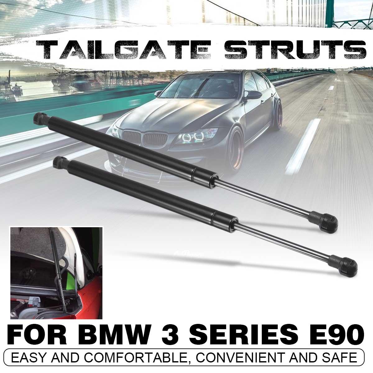 2X 38.5cm Tailgate Boot Trunk Gas Spring Hood Lift Shock Struts  For BMW 3 Series E90 E91 E92 E93 2005-2013
