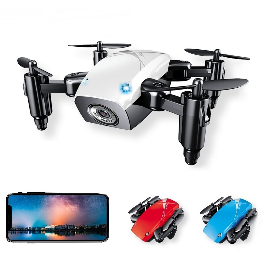 S9 s9w s9hw dobrável rc mini zangão bolso zangão micro helicóptero rc com câmera hd altitude hold wifi fpv fswb brinquedos para crianças