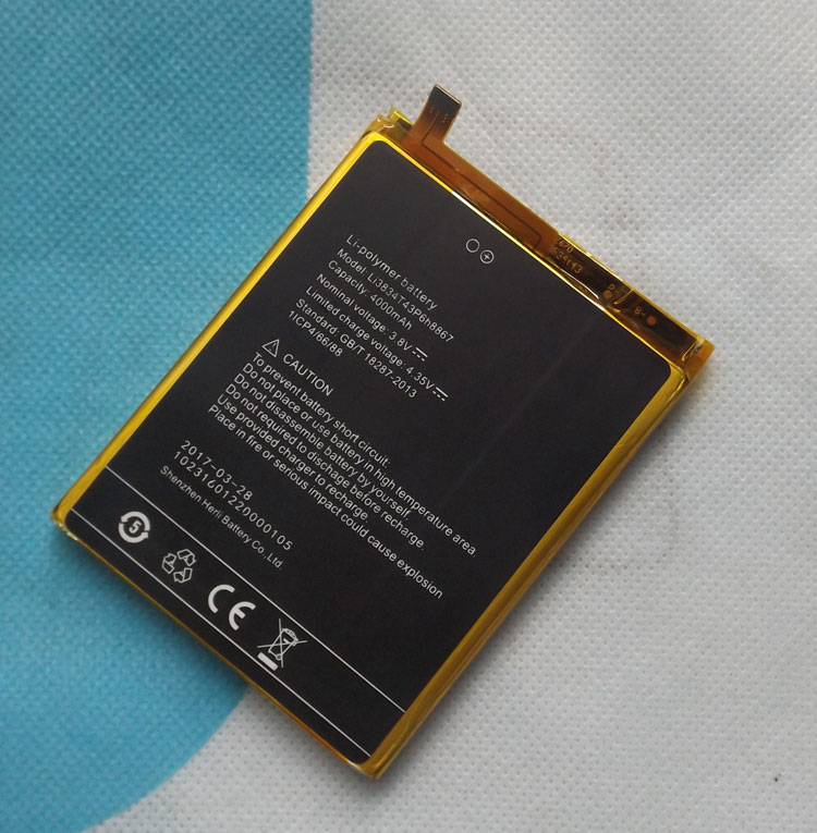 Б/у оригинальный аккумулятор 4000 мАч, аккумулятор для UMI Max