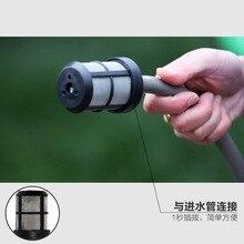 Lutian wysokie ciśnienie mycia samochodów maszyna do części gospodarstwa domowego przenośna podkładka samochód filtr wlotowy wąż spustowy sitko wody filtr wstępny