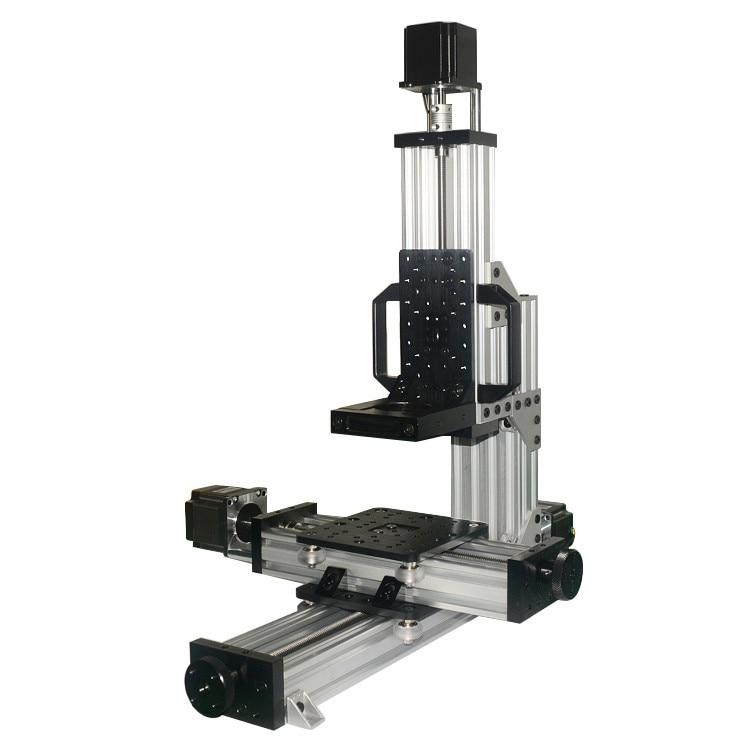 لا تجميعها! 1 مجموعة مفتوحة MiniMill CNC الميكانيكية كيت 3 محور سطح المكتب CNC البسيطة مطحنة آلة