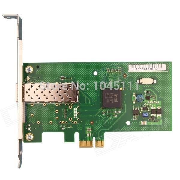 Winyao-adaptateur réseau WY580F1SFP, pcie X1, en Fiber Gigabit, carte NIC, intel82580 VLAN ROS Esxi5.5