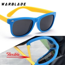 WarBLade 다채로운 유연한 어린이 선글라스 Polarized Eyewears 어린이 고품질의 HD 렌즈 아기 안전 코팅 거울 음영