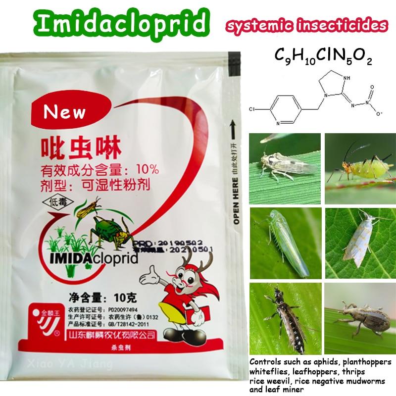Imidacloprid Verimli Sistemik Böcek Ilacı Tarımsal Ilaç Pestisit Öldürmek Haşere böcek koruma Bahçesi Bonsai Bitki