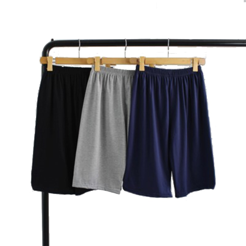 Summer Cotton Pyjamas Mens Sleepwear Casual Trousers Male Sleeping Short Loose Comfortable Sleep Bot