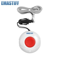 free shipping Wireless 433MHZ Lanyard Panic Button Wristwatch Style Emergency Alarm Button For GSM/PSTN Alarm System