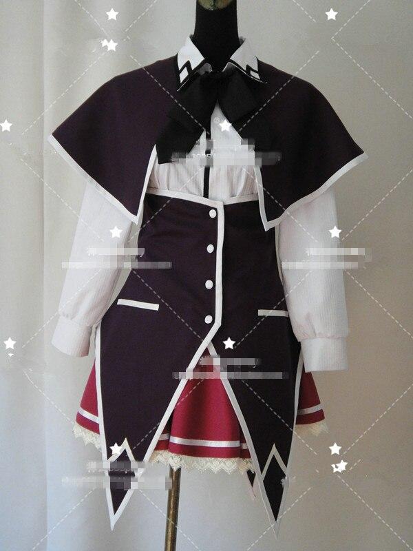 Anime! Lycée DXD Rias Gremory uniforme Cosplay Costume femmes/hommes unisexe chemise + jupe + cravate + cape + tablier livraison gratuite
