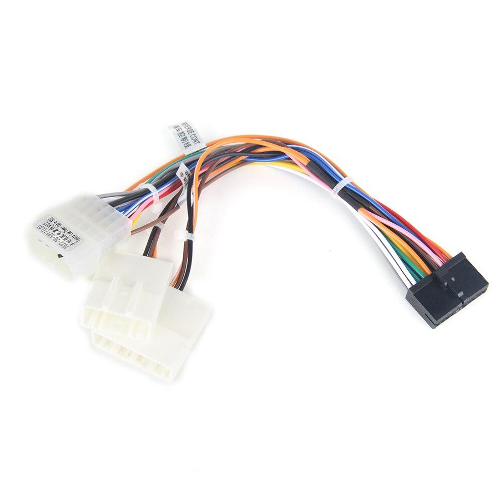 Dasaita DYX004 SAMOCHODOWY ODTWARZACZ DVD Audio wiązki przewodów Adapter dla Toyota Corolla Camry Prado RAV4 Hilux fabryki kabel radia SWC