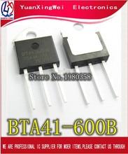 5 unids/lote BTA41-600B BTA41600B BTA41 BTA41-600B Triacs 40 Amp 600 voltios TO-3P nuevo original