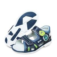 עיצוב חדש 1 זוג ילדי קשת תמיכה אורטופדי עור נעלי + פנימי גודל 16.8-20.2cm פנאי ילדים נעלי